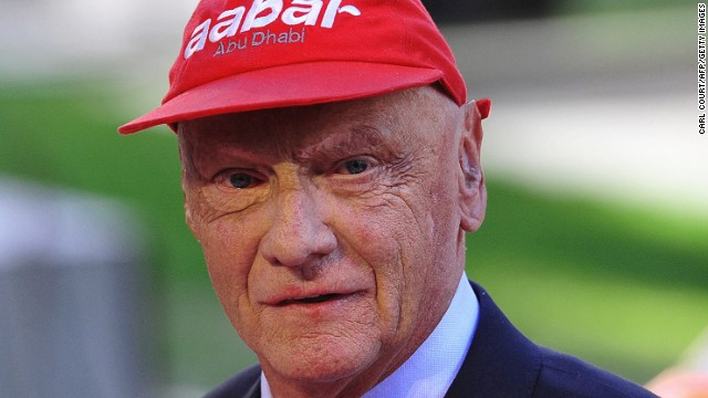 Niki Lauda won two of his three world titles with Ferrari.