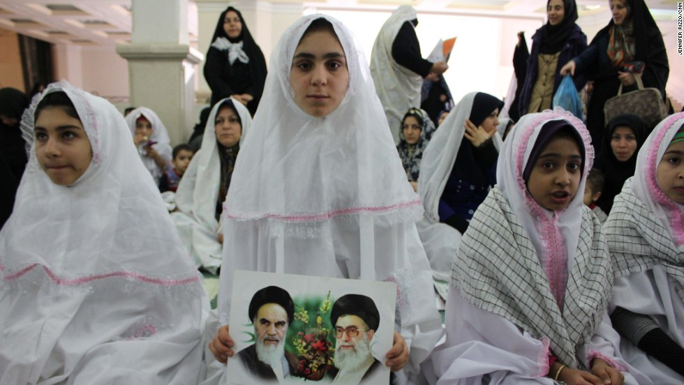 "Women gather for Friday prayers at the Mosalla prayer house in Tehran on January 24.  Photo by CNN's Jennifer Rizzo.  Watch at  <a href=""http://www.cnn.com/video/data/2.0/video/world/2014/01/24/sot-atw-jim-sciutto-iran-friday.cnn.html"">CNN.COM</a> as CNN's Jim Sciutto reports from the ground in Tehran, where Iran finds itself in the middle of several newsmaking stories.  Follow Jim (<a href=""http://instagram.com/jimsciutto"" target=""_blank"">@jimsciutto</a>) on Instagram for more photos from inside Iran."