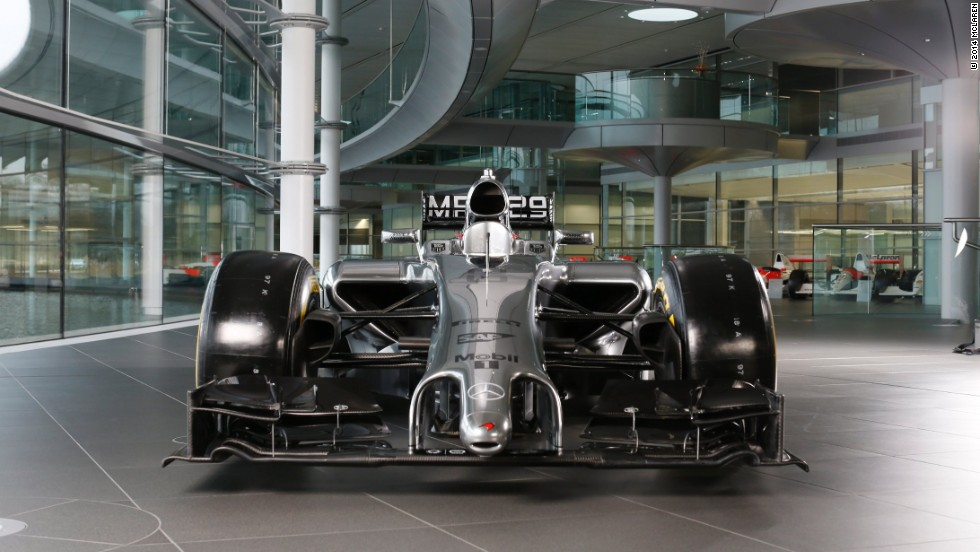 British F1 team McLaren have also declared their hand, revealing the MP4-29 at their Surrey base on Friday.