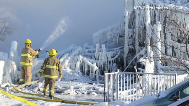 At least 30 presumed dead in Quebec fire