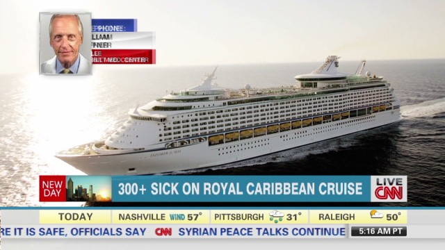 Hundreds get sick aboard cruise ship