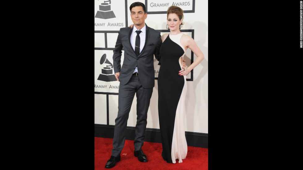 Andy Caldwell and Esme Bianco