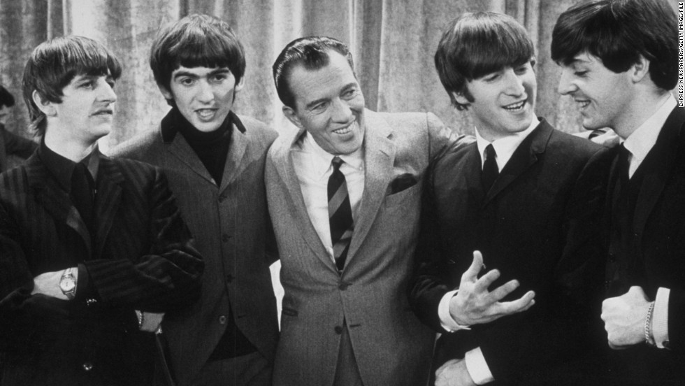 "On February 9, 1964, <a href=""http://www.cnn.com/2014/01/30/showbiz/beatles-ed-sullivan-beatlemania-5-things/index.html"">the Beatles made their U.S. debut on ""The Ed Sullivan Show,""</a> kicking off the American strain of ""Beatlemania"" -- a fever that had already infected their native Britain. The show remains one of the highest-rated entertainment programs of all time."