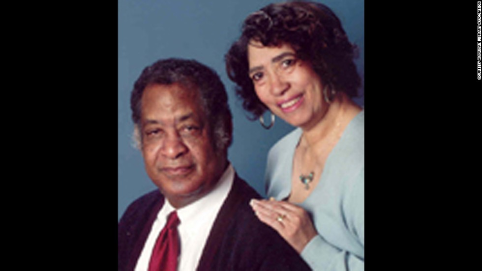 Authors Patricia and Fredrick McKissack are the winners of the Coretta Scott King-Virginia Hamilton Award for Lifetime Achievement.