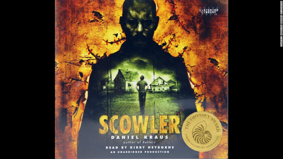 """Scowler,"" produced by Listening Library, is the 2014 Odyssey Award winner for audiobooks."