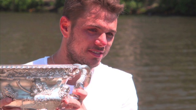 Wawrinka wins his first Grand Slam