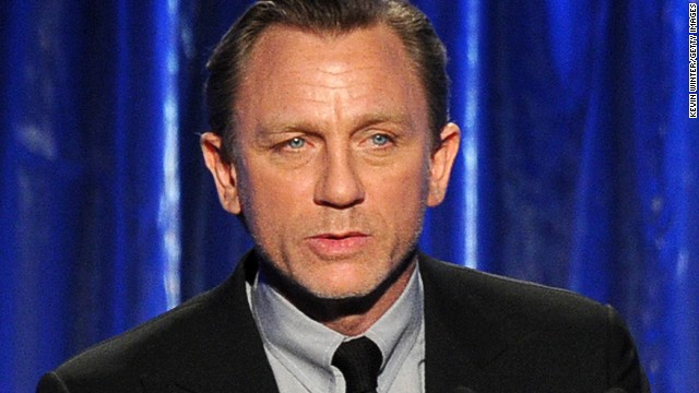 Actor Daniel Craig at the 25th annual Producers Guild of America Awards on January 19, 2014 in Beverly Hills, California.