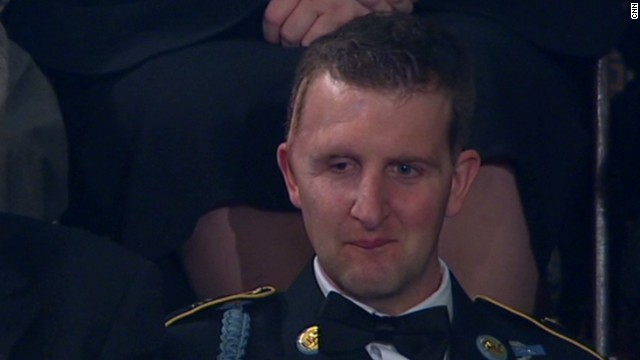 War hero honored at State of the Union