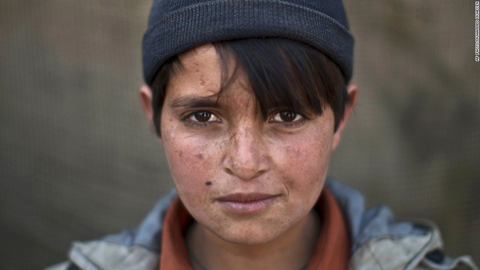 Abdulrahman Bahadir, 13 -- Afghans still represent the largest group of refugees in the world, the agency says.
