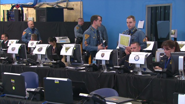 See Super Bowl security command center