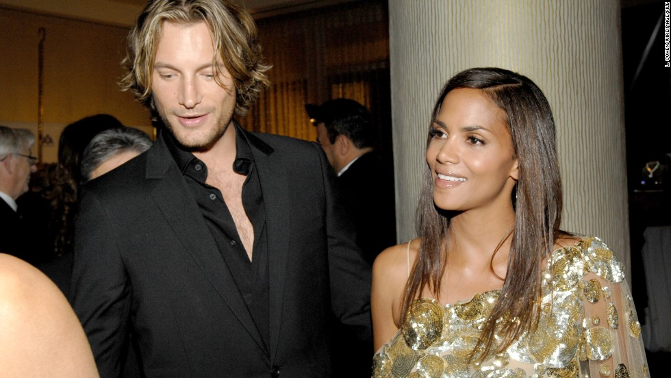 "Halle Berry's dating life has been all over the map. She's married to Olivier Martinez, who like Berry is in his late 40s. But ex-boyfriend Gabriel Aubry, left, is nine years younger than her. She once credited Aubry, a model and eventual father of her first child, for keeping her ""mojo"" going."