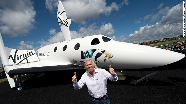"""Rome wasn't built in a day,"" tweeted Virgin Galactic's Richard Branson about delays in his space program."
