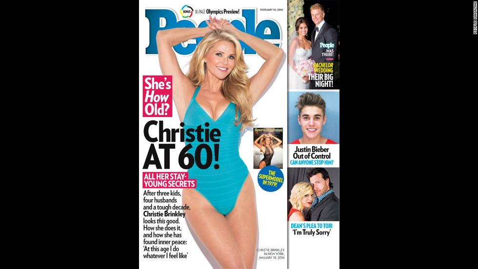 "Christie Brinkley turned 60 in February 2014 by showing off her birthday (swim)suit <a href=""http://www.people.com/people/article/0,,20780764,00.html"" target=""_blank"">on the cover of People magazine</a>. Now 61, the model and mom of three posted photos of herself in November 2015. Here are a few other celebs who are sexy in their 60s."