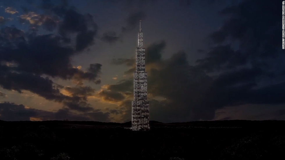 "<em>Sky City </em><br /><br />This towering structure has the ambition to become the tallest building on Earth at staggering 838 meters. The developer, <a href=""http://en.broad.com/"" target=""_blank"">Broad Sustainable Building</a>, claims that the tower can be constructed in just a few months, rather than years usually necessary for structures of similar scope, thanks to its prefabricated design. This vertical city in Changsha, central China, will have the highest urban density in the world, and will house a mix of residential and commercial properties, if building goes ahead."