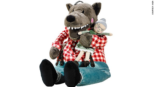 This toy wolf has become a cuddly symbol of disillusionment with Hong Kong's leader.