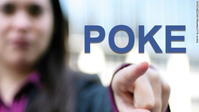 "A Facebook ""poke,"" which nobody seems to do anymore, was supposed to be a flirty gesture."
