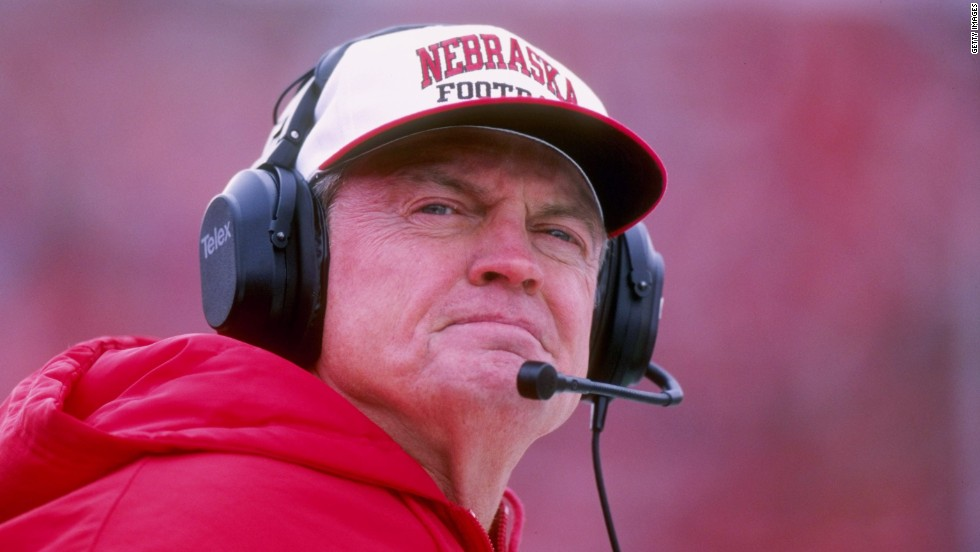 Tom Osborne, former Republican Congressman from Nebraska (2002-2006) and the former nominee for Nebraska governor was first drafted into the NFL by the Washington Redskins and played for two seasons as a wide receiver before moving on to play his last NFL season for the San Francisco 49ers. Osborne coached the University of Nebraska Cornhuskers (1972-1997), winning two national championships.