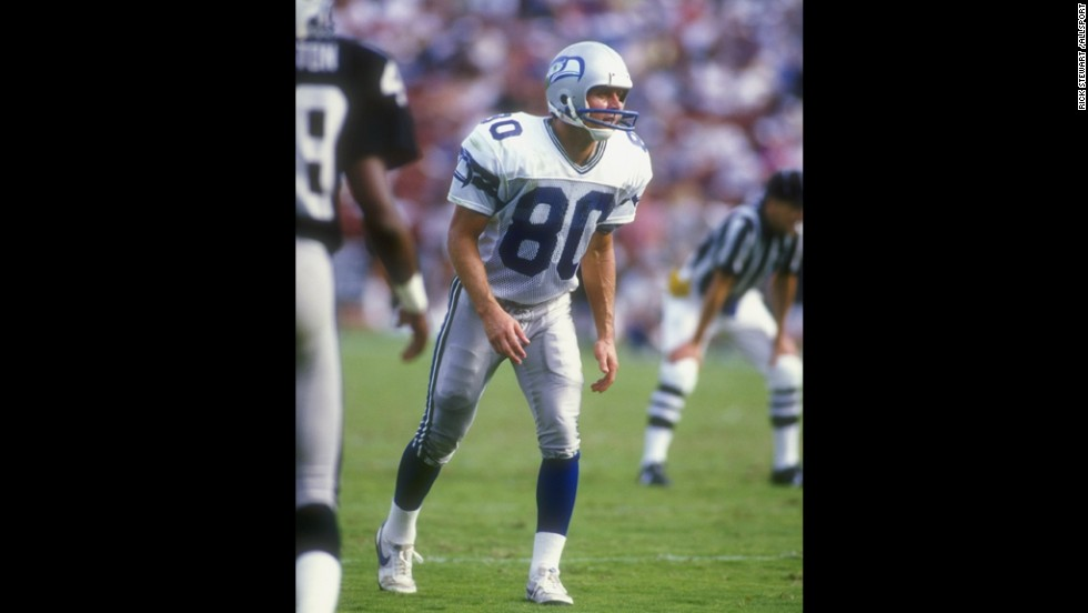 Former Oklahoma Republican Congressman Steve Largent (1994-2002) played in the NFL from 1976-89 as a wide receiver for the Seattle Seahawks. He was elected to the Pro Football Hall of Fame in 1995 and played in a total of seven Pro Bowls.