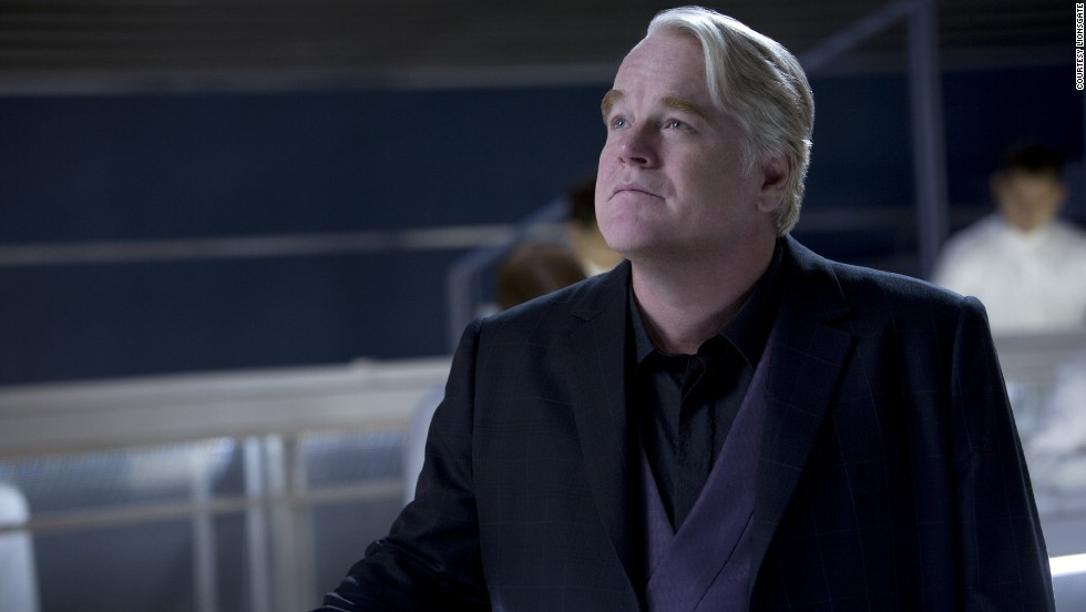"Philip Seymour Hoffman en ""The Hunger Games: Catching Fire"" de 2013 interpretando a Plutarch. Mira en esta galería sus papeles más memorables:"