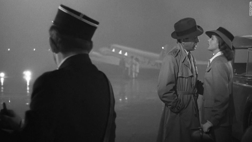 "We'll always have Bogart and Bergman, aka Rick and Ilsa, in Michael Curtiz's ""Casablanca."" Nobody at Warner Bros. expected this movie, based on an unproduced play, ""Everybody Comes to Rick's,"" to be a classic when it came out, but the <a href=""http://www.afi.com/100Years/movies10.aspx"" target=""_blank"">American Film Institute ranked this best picture winner as the third-greatest U.S. film</a> more than 60 years later."
