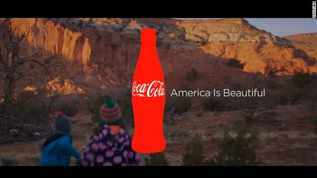 Multilingual Coca-Cola ad sparks anger