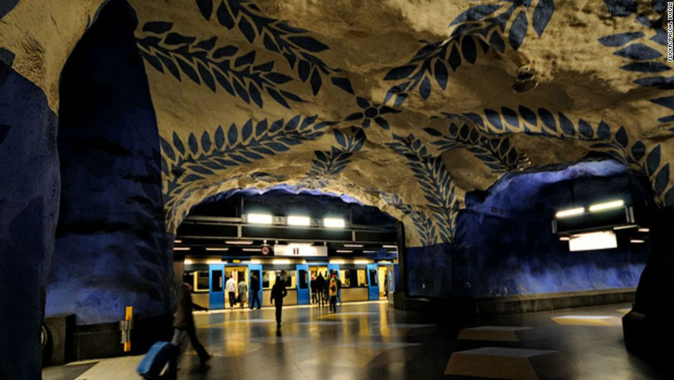 Of The Worlds Nicest Brightest Metro Stations CNN Travel - The 12 most beautiful metro stations in the world