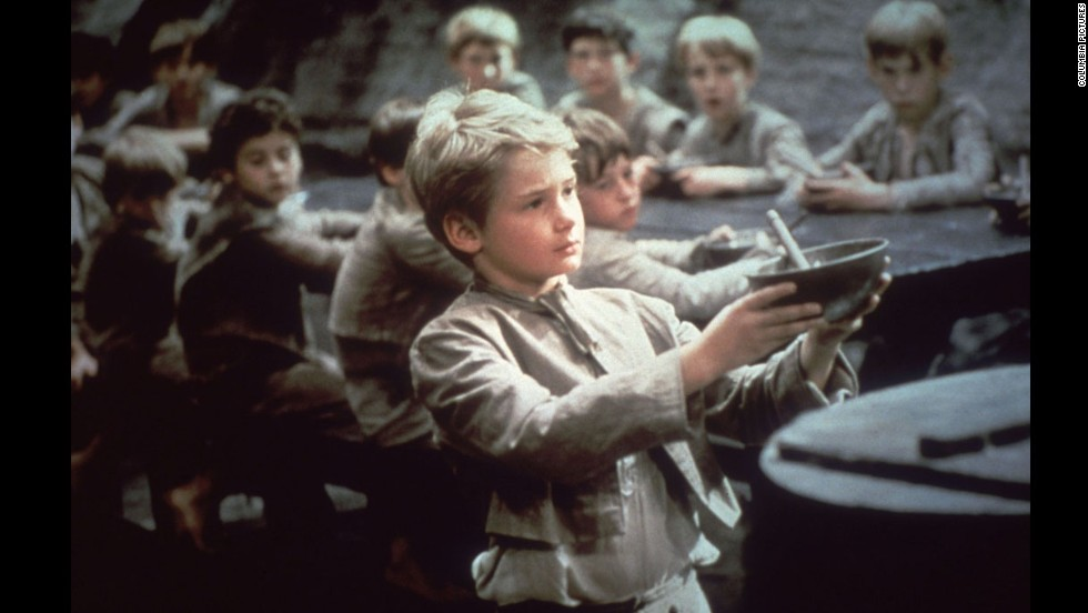 "This best picture winner was a musical adaptation of Charles Dickens' ""Oliver Twist"" with Mark Lester as an orphan who teams up with other young pickpockets led by an old criminal. Carol Reed also took home the Oscar for best director. Two of 1968's best-remembered movies, Stanley Kubrick's ""2001: A Space Odyssey"" and Roman Polanski's ""Rosemary's Baby,"" weren't even nominated for best picture."
