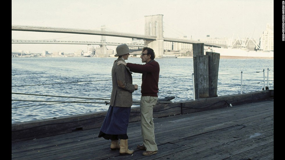 "Moviegoers fell in love with Diane Keaton in her Oscar-winning role as the ditsy, insecure heroine of Woody Allen's autobiographical ""Annie Hall."" Her thrift-store fashions and offbeat sayings (""La-di-da, la-di-da"") became hallmarks of the late '70s. Allen won Oscars for best director and original screenplay (with Marshall Brickman) for the film."