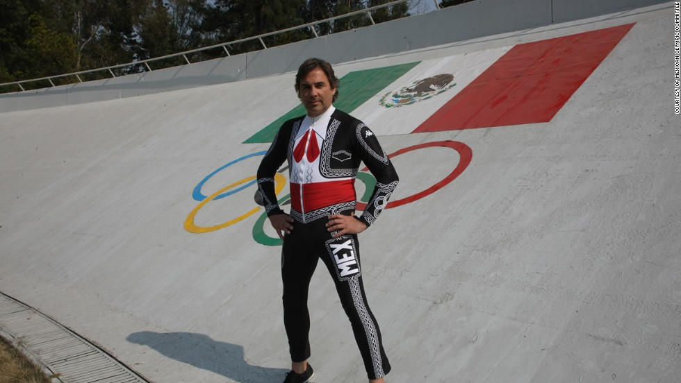 He founded the Mexican Federation of Winter Sports in 1981 and the 55-year-old has competed in the Games on five previous occasions between 1988 and 2010.