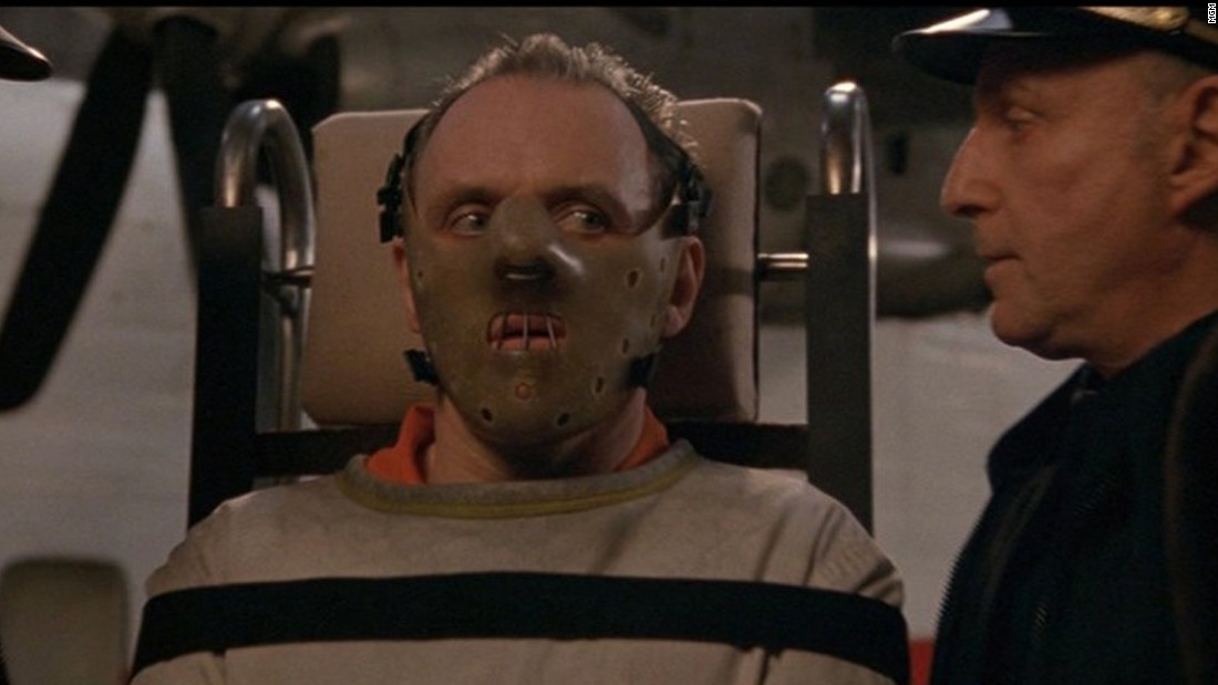 """The Silence of the Lambs"" won a slew of Oscars, including best actor (for Anthony Hopkins, pictured), best actress (Jodie Foster) and best picture. The 1991 film stars Foster as an FBI agent on the trail of a serial killer and Hopkins -- who has just 16 minutes of screen time -- as Hannibal Lecter, a jailed killer who assists her."