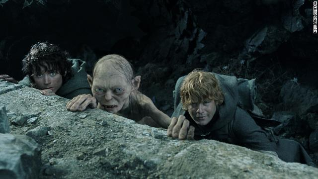 "Sean Astin, far right, in ""The Lord of the Rings: The Return of the King"" with Elijah Wood and Andy Serkis."