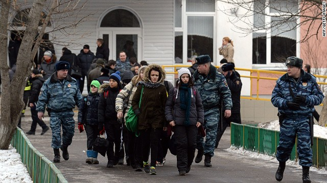 School shooting in Moscow kills 2