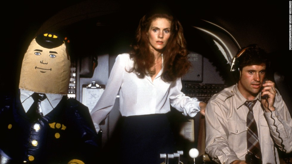 "The hilarious 1980 movie <strong>""Airplane!,""</strong> starring Julie Hagerty and Robert Hays, is a must-watch. (Available now.)"