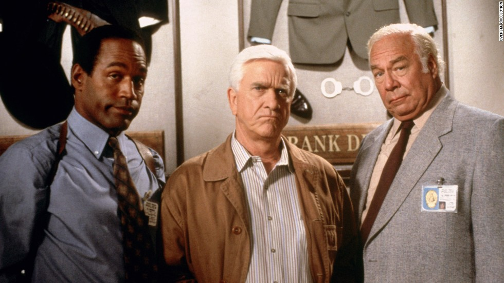 "<strong>""The Naked Gun: From the Files of Police Squad""</strong> featured O.J. Simpson, Leslie Nielsen (also in ""Airplane!"" and ""Airplane II"") and George Kennedy. Its laughs feel just as goofy as when it was released in 1988. (Available now.)"