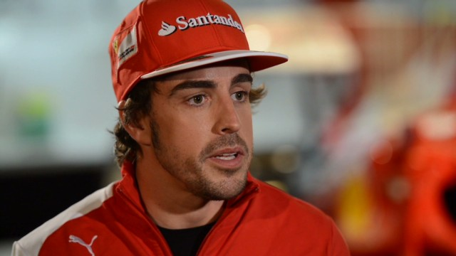 Experience Alonso's world up close