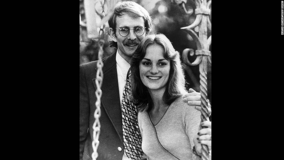On that night in February, Hearst was abducted at gunpoint from the apartment she shared in Berkeley, California, with her fiance, Steven Weed, seen here with Hearst. The crime was committed by a radical group called the Symbionese Liberation Army, or SLA.