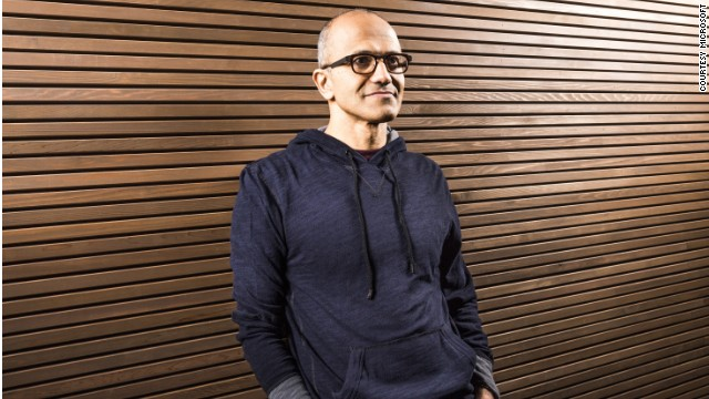 Who is Microsoft's Satya Nadella?