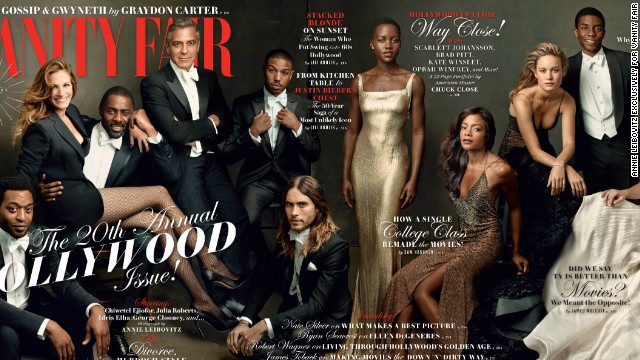 Vanity Fair praised for diverse cover