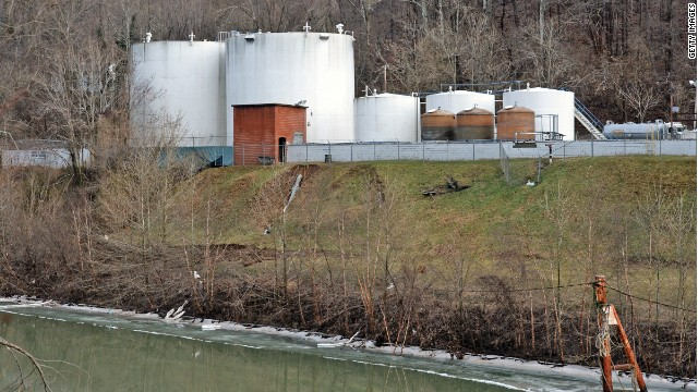 Seven-thousand gallons of the toxic chemical 4-methylcyclohexane methanol, or MCHM, leaked into the Elk River in January.