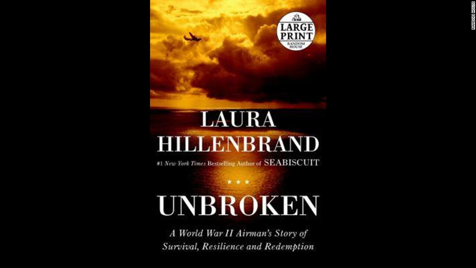 'Unbroken: A World War II Story of Survival, Resilience, and Redemption' by Laura Hillenbrand
