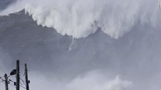 Is this the biggest wave ever surfed?