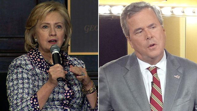 Hillary, Jeb and a nasty GOP primary