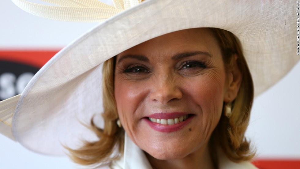 "Kim Cattrall of ""Sex and the City"" played the sexualized New York PR woman Samantha Jones, but she was born in Liverpool, England, and grew up in Canada."