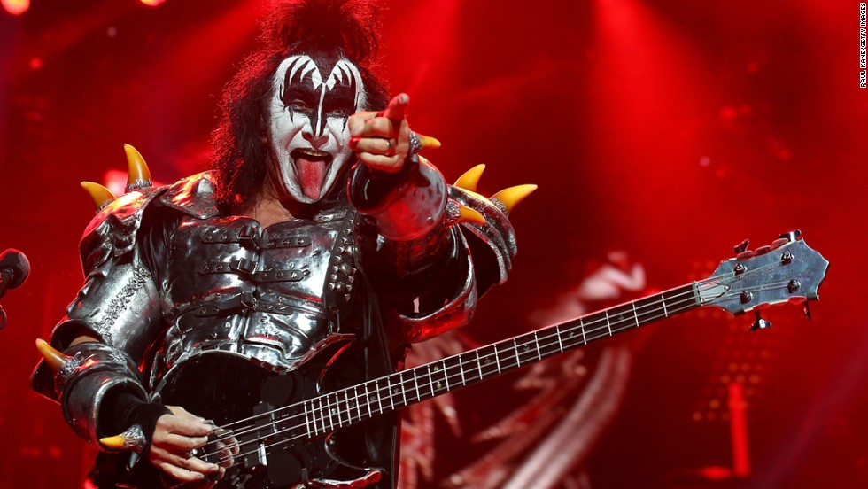 """Gene Simmons"" is about as American-sounding as you can get, right? Not so much for Chaim Witz, which is what Simmons was born in Haifa, Israel, in 1949. He and his mother moved to New York in the late '50s. Before he was Gene Simmons, he went by Eugene Klein."