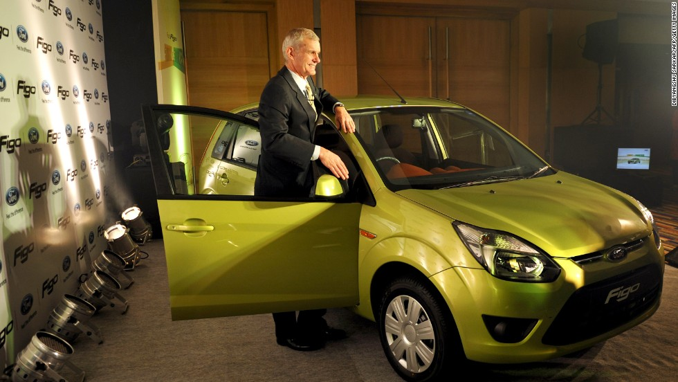 Ford hopes its new Figo Concept compact sedan will be a hit at New Delhi's Auto Expo 2014.