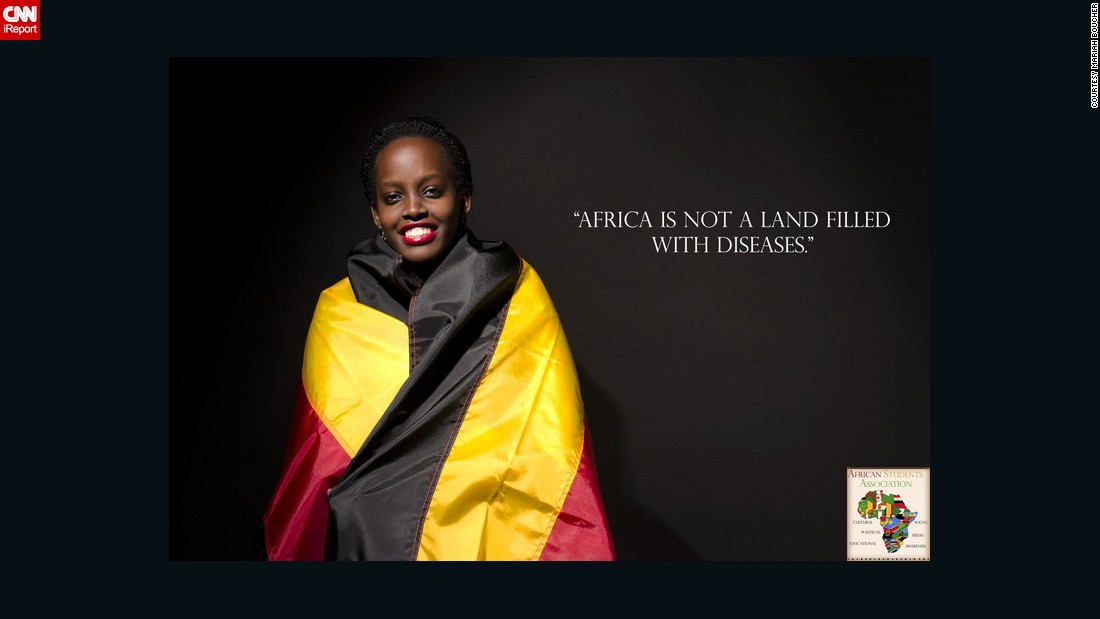 The social media campaign wants to create awareness about the common stereotypes surrounding Africa and its people.