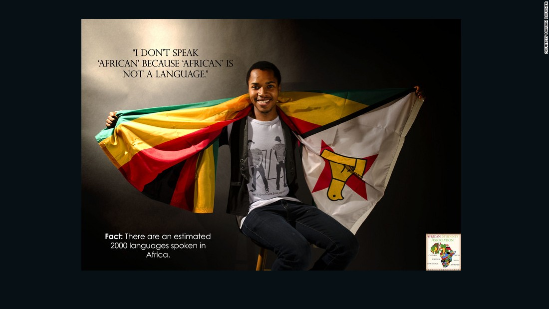 'Africa is not a country': Students' photo campaign breaks down stereotypes