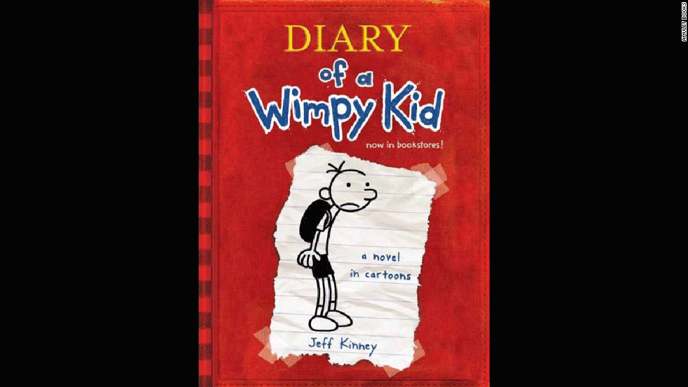 'Diary of a Wimpy Kid' by Jeff Kinney