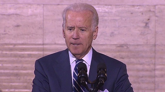 Biden slams New York airport