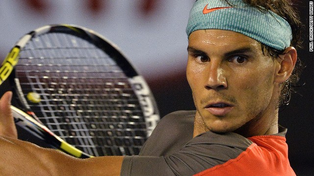 Nadal failed to train for the first time since last month's defeat in the Australian Open final on Thursday.